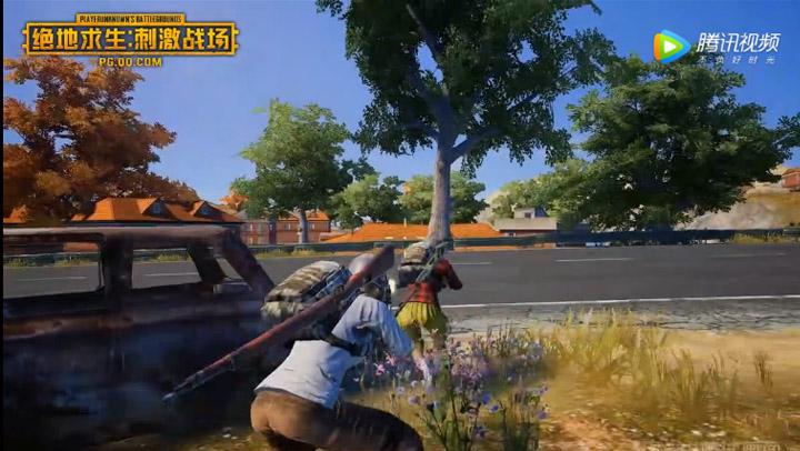游戏实录四人对战战斗视频